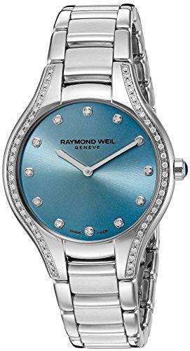 Raymond Weil 5132-STS-50081 - Orologio svizzero al quarzo da donna con...