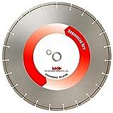 MK Diamond 137315 MK-404D 14-Inch High Speed Dry Cutting Segmented Diamond Saw Blade with 1-Inch Arbor for Masonry