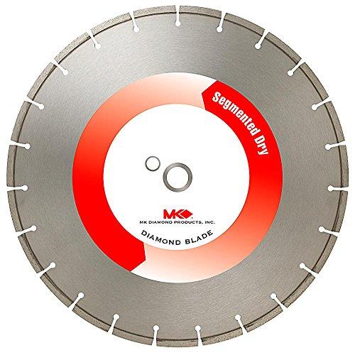 MK Diamond 137315Z MK-404D 14-Inch Dry Cutting Segmented Diamond Saw Blade with 20-Millimeter Arbor for Masonry