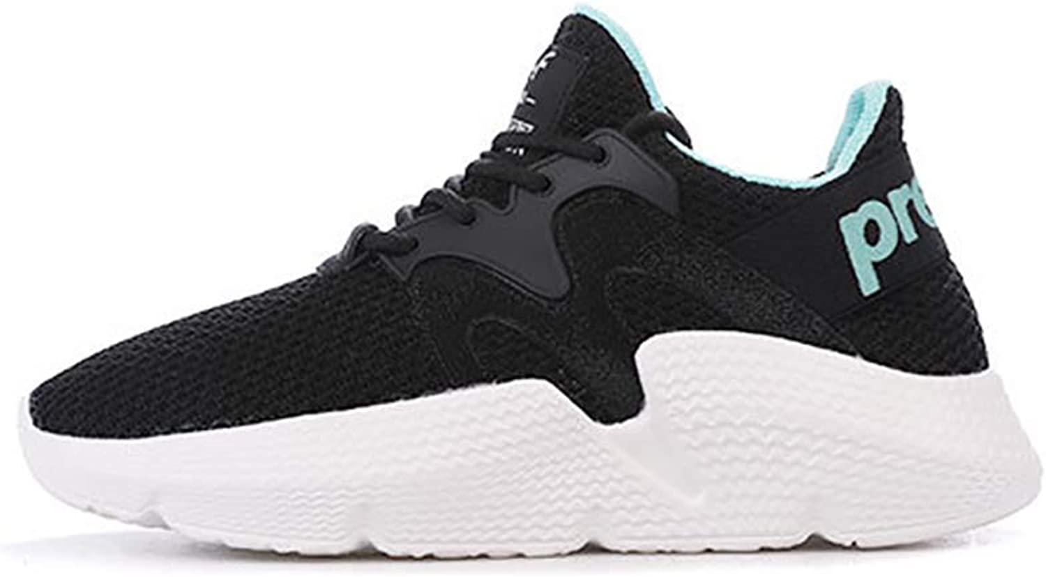 Women's Sneakers,Comfort Damping Trainers shoes,Light Breathable Walking Gym shoes Athletic Sneakers,Spring Summer Autumn Fall Winter Camping Walking Park (color   Black, Size   36)