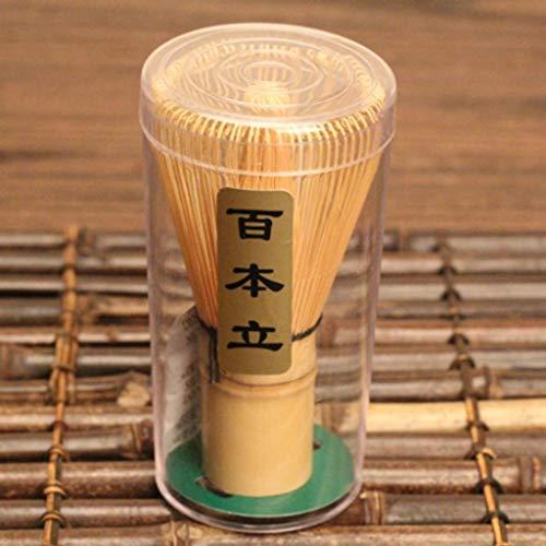 DDLBiZ Bambus Chasen Matcha Pulver Quirl Werkzeug Japanische Teezeremonie Zubeh?r 75-80 Borsten