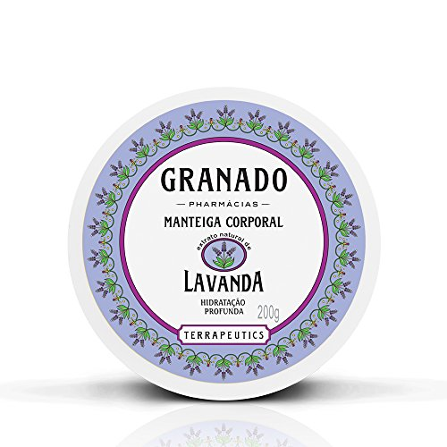 Manteiga Corporal Terrapeutics Lavanda, Granado, Lilás, 200g