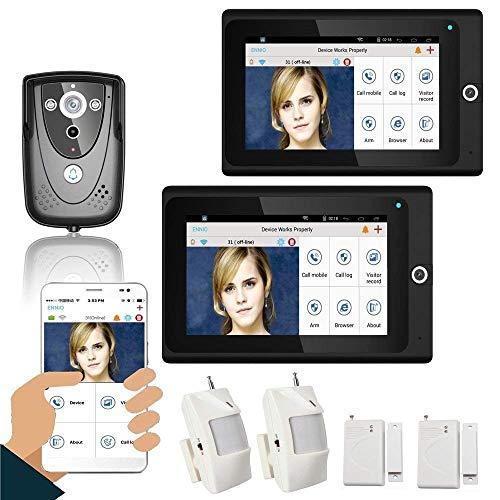 """Preisvergleich Produktbild WG Populäre 7""""2 Monitore WiFi Wireless Video Door Tel."""
