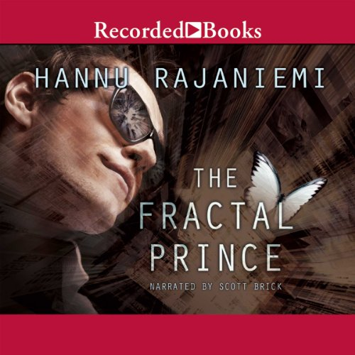 The Fractal Prince audiobook cover art