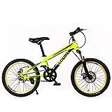 KKLTDI Bicicleta Adulta,20 Pulgadas Niños Bicicleta De Montaña,Mujer Cruz Country Boy Bicicleta De...