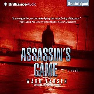 Assassin's Game audiobook cover art