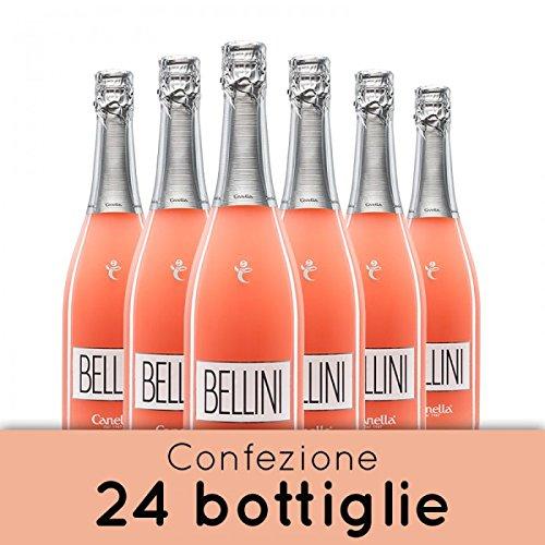 Canella Bellini Cocktail - Bellini Spumante alla Pesca - 24 bt - 75 cl.