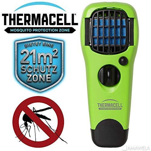 Thermacell NEU 2019 Handgerät MR-LJ Lime gegen Mücken | Zuverlässiger Mückenschutz und Insektenschutz | Mückenabwehr ohne DEET | Mückenschutz für den Tropenurlaub | Farbe: Lime