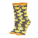 HAPPYPOP Yellow Duck Socks for Women Girls Novelty Funny Socks Gift for Farm...