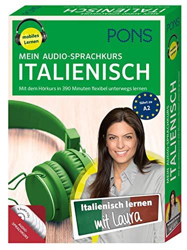 PONS Mein Audio-Sprachkurs Italienisch: Mit dem Hörkurs in 390 Minuten flexibel unterwegs lernen: Mit dem Hörkurs in 330 Minuten flexibel unterwegs lernen