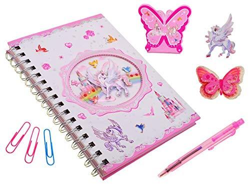 BSD Diario Segreto - Notebook con Penna - Unicorno