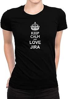 Keep Calm and Love JIRA Women T-Shirt