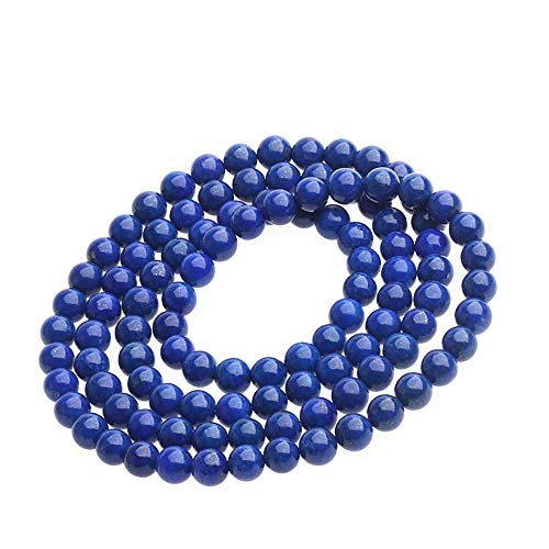 HJkkls 108mala bead necklace natural lapis lazuli Tibetan Buddhist prayer rosary bracelet yoga meditation yapa jewelry pendant