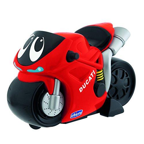 Chicco 00000388000000 Ducati Turbo Touch Moto Elettronica, Rosso