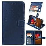 Blackview BV9100 Premium Leather Wallet Case [Card Slots]