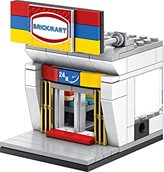 Exclusive Brick Loot Mini City Brickmart Brick Toy Store - Custom Designed Model - Compatible with LEGO and other Major Brick Brands