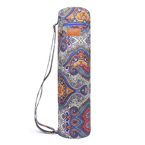 ELENTURE Yoga Carrying Bag for Yoga Mat Yoga Strap with Multi-Functional Storage Pockets (Celestial)