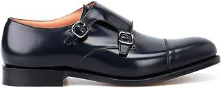Church's Luxury Fashion Homme EOB0159XVF0ABM Bleu Cuir Chaussures À Boucles | Automne-Hiver 19