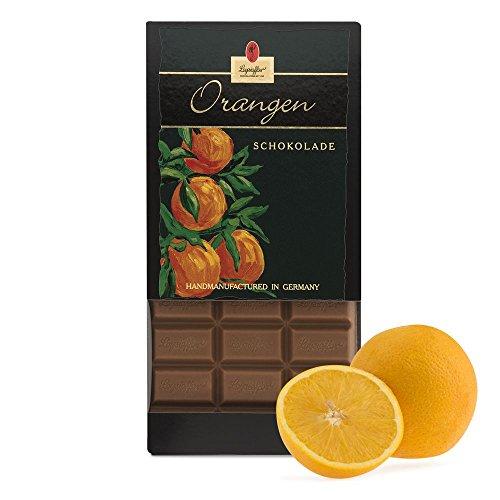Leysieffer - Vollmilch Orangen Schokolade - 100g