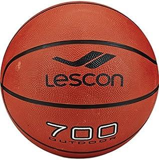 Lescon La-2521 Basketbol Topu, Unisex, Kahverengi, 7 numara