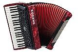 Hohner a16831s Bravo línea Facelift III 120cromática Bass Piano acordeón (con funda,...