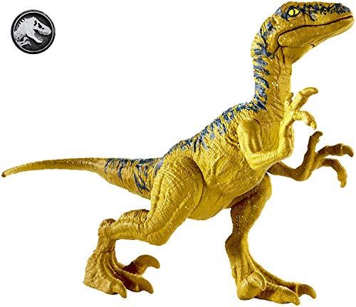 Jurassic World Velociraptor Delta, Figura Dinosaurio de