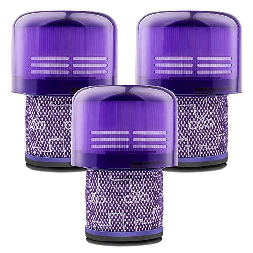 LabTEC Paquete de 3 filtros V11 de repuesto para aspiradora Dyson V11, V11 de torque y V11 Animal, Dyson V11 de filtro