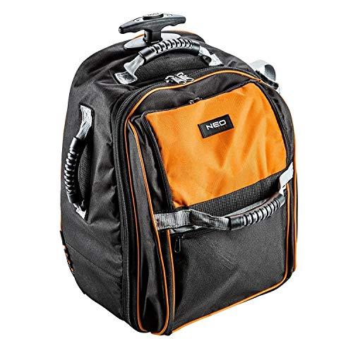 NEO TOOLS Rucksack on Wheels Fitting Backpack Tool Bag Heavy Duty 84303 NEW