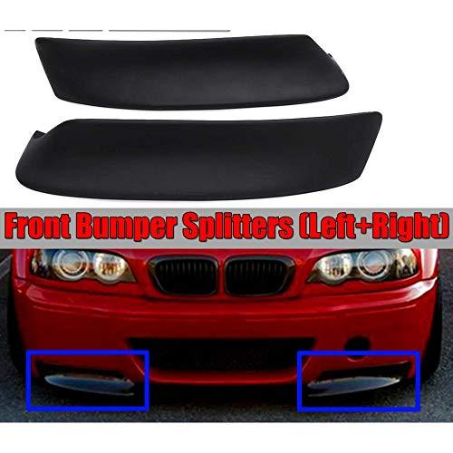 BAISHENG Auto Frontschürze Splitter Lip Diffusor Spoiler Lip, für BMW E46 M3 1999 2000 2001 2002 2006 CSL Style