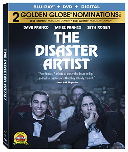 The Disaster Artist [Blu-ray + DVD]
