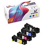 AZ Supplies Compatible Toner Cartridge Replacement for Dell 2130 330-1385 330-1386 330-1388 330-1387 FM064 FM065 FM067 FM066 Color Laser 2130CN 2135CN (Black, Cyan, Magenta, Yellow 4 - Packs)
