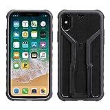 Topeak RideCase - Carcasa para iPhone X, sin Soporte, Color Negro y Gris