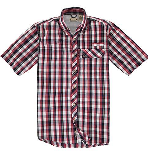 Backpacker Mochilero Deporte Utilidad Camiseta, Hombre, Rojo