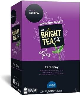 THE BRIGHT TEA CO., Earl Grey Tea Freshpacks for MARS DRINKS FLAVIA Brewer, 20 Packets