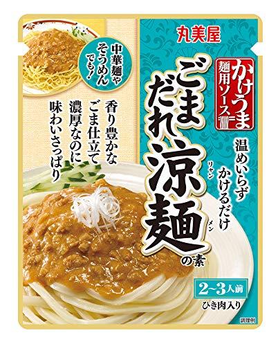 丸美屋食品工業 かけうま麺用ソース ごまだれ涼麺の素 230g ×5箱