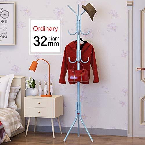 Leshared eenvoudige metalen kapstok gemonteerd woonkamer vloer hoed kledingstandaard woonmeubelen multi-haak hangende kledingstandaard