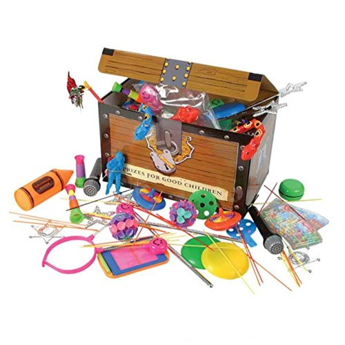 Purchase Kicko Toy Assortment Box - 100 Pieces per Box - Treasure Chest - Birthday Party Bag Prizes ...