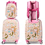Custpromo 2 PC ABS Kids Luggage Set 18