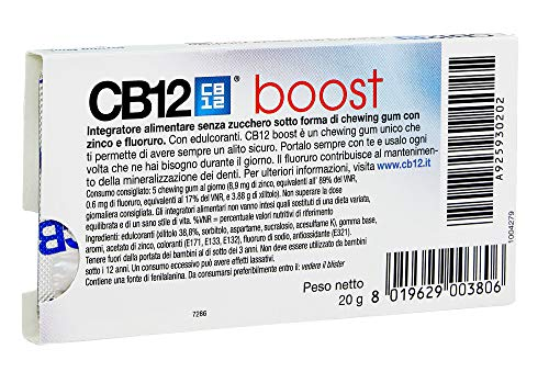 CB12 Steigern Sugar Free Gum – Starke Mint 2 Pack - 2