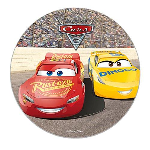 Dekora - Disney Cars Tortenaufleger aus Esspapier