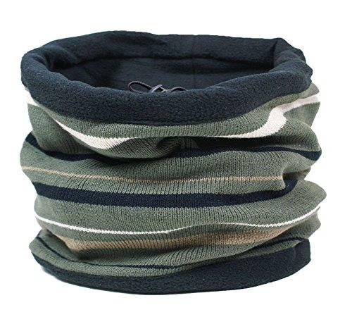 RockJock Combinaison snood pour hommes- cache col, écharpe, chapeau, capuchon, foulard.