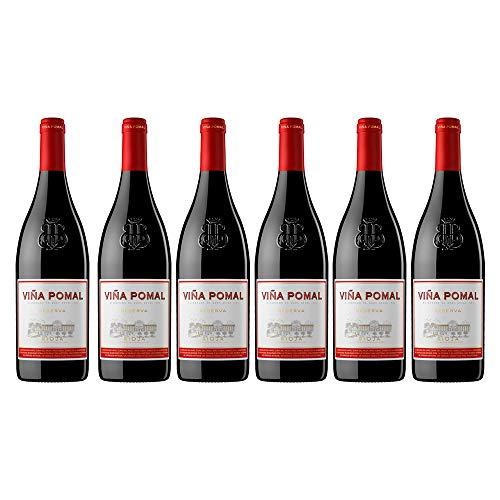 Viña Pomal | Vino Tinto Reserva Viña Pomal | Bodegas Bilbaínas | D.O.Ca. Rioja | Caja de 6 botellas de 75 cl
