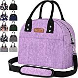 Reusable Insulated Cooler Lunch Bag - Portable Lunch Box for Office Work School Picnic Beach Workout...