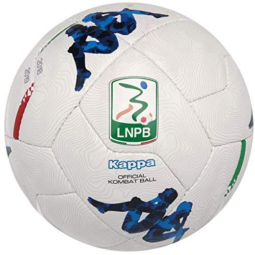 Kappa Pallone Lega Nazionale Serie B Replica 2018/19-5, Bianco/Azzurro 304K9U0