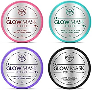 The Beauty Co. Glitter Glow Mask (Pack of 4) (100GM)