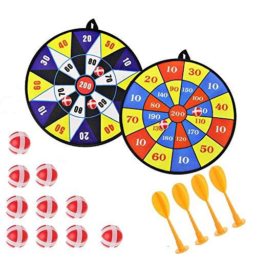 Queta Kinder Safe Stoff Dartspiel Set / Ring Wurfspiel, Dartscheiben-Set