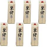 奄美黒糖焼酎 里の曙 (3年長期貯蔵) 25度 1800ml(1.8L) 紙パック 6本セット