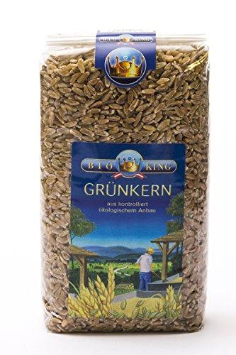 BioKing 4x 500g Bio GRÜNKERN, ganz (EUR 3,99 / Pkg.)