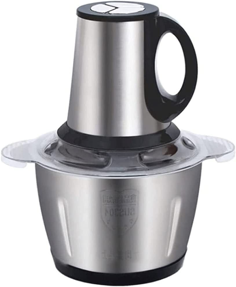 ZOUJIANGTAO Indefinitely Electric Food Latest item Chopper Blender Stainless Steel Bowl