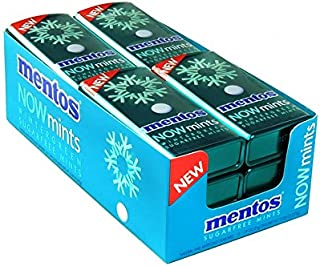 Product Of Mentos Now , Wintergreen Mint Tin, Count 12 (1.09 oz) - Mints / Grab Varieties & Flavors
